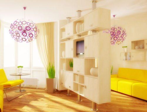 Wohlfühlambiente durch Möbel und Accessoires in Gelb