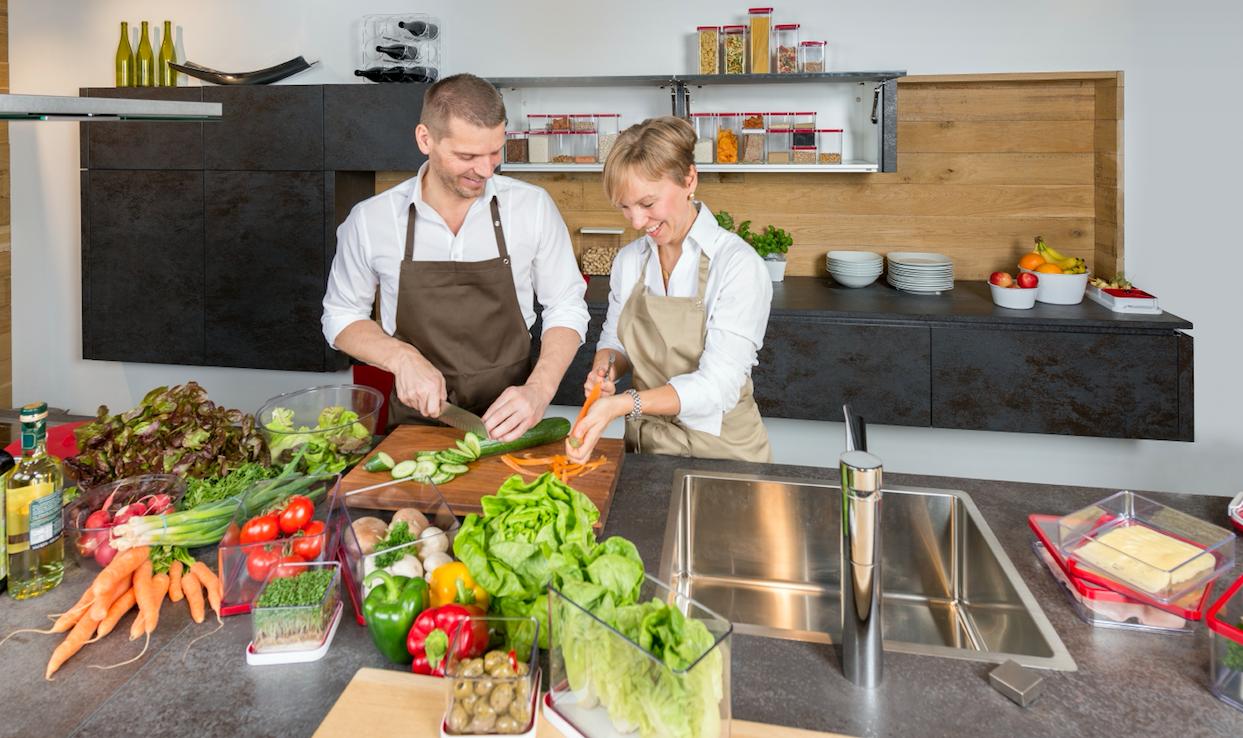Vorratsdosen verwandeln die Küche in eine hygienische Schlemmeroase