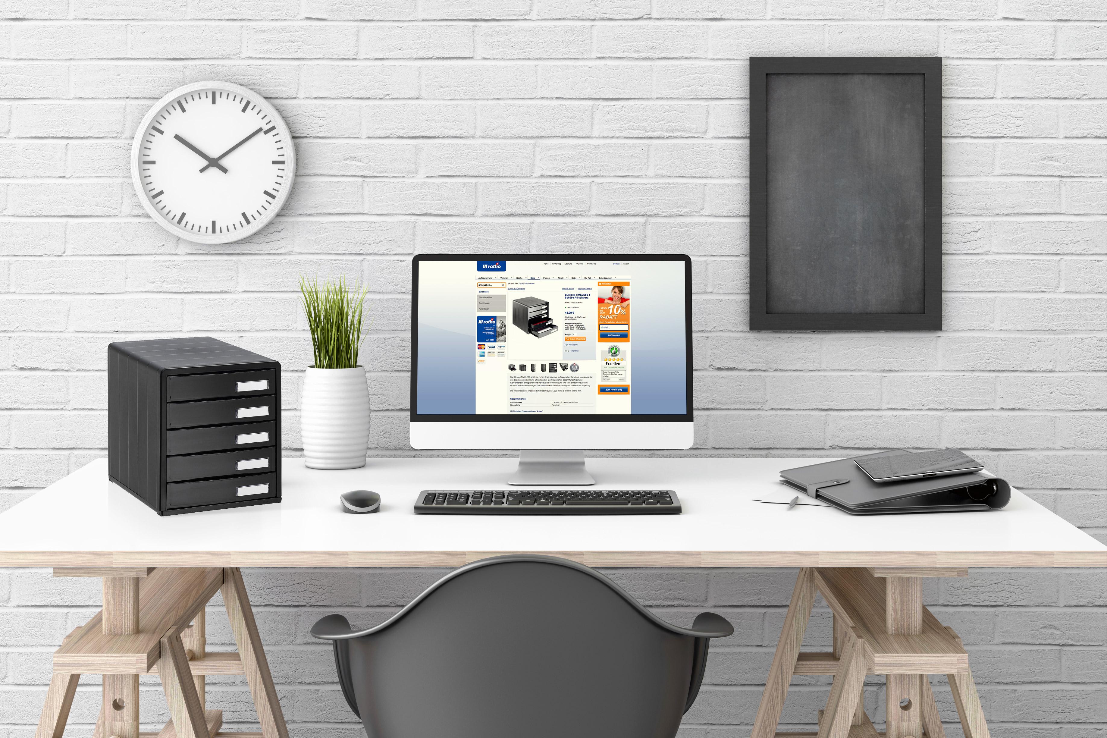 Büroboxen helfen, Stress am Arbeitsplatz zu vermeiden