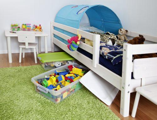 Ordnung und Aufbewahrung im Kinderzimmer – so funktioniert es stressfrei