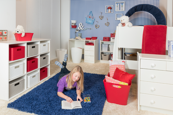 Jugendzimmer einrichten – sorgen Sie für viel Stauraum!